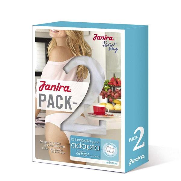 Pack 2 Braguitas Slip Adapt Perfect Day Janira