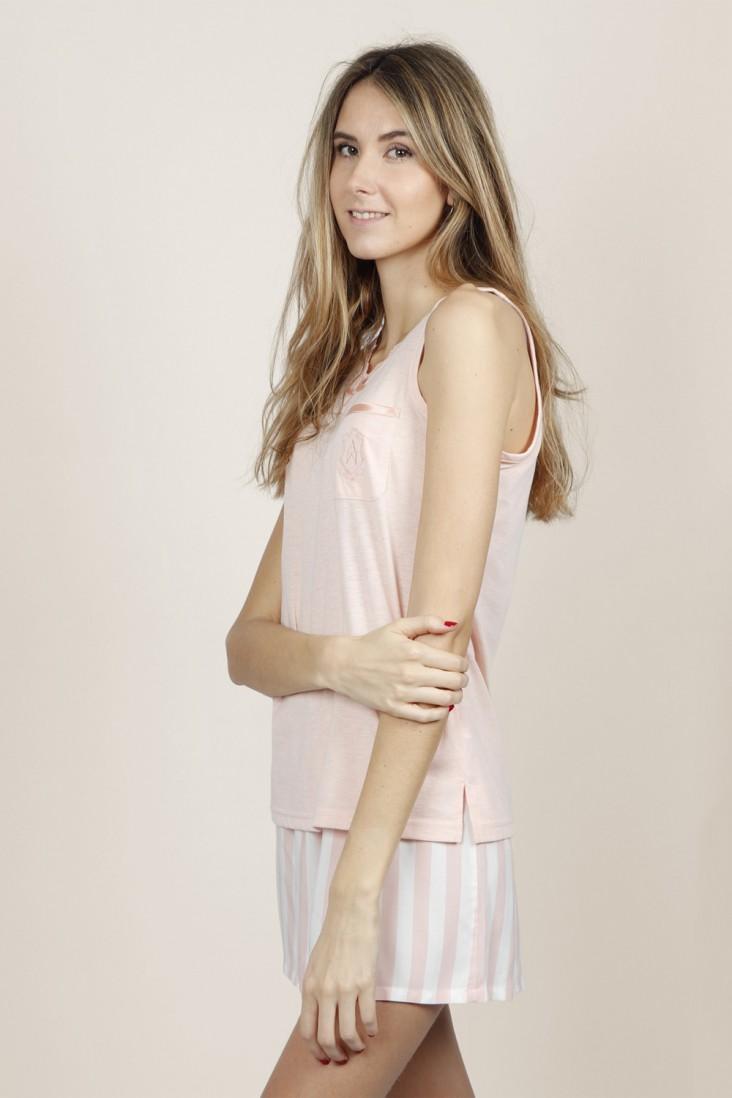 Pijama Corto Classic Admas