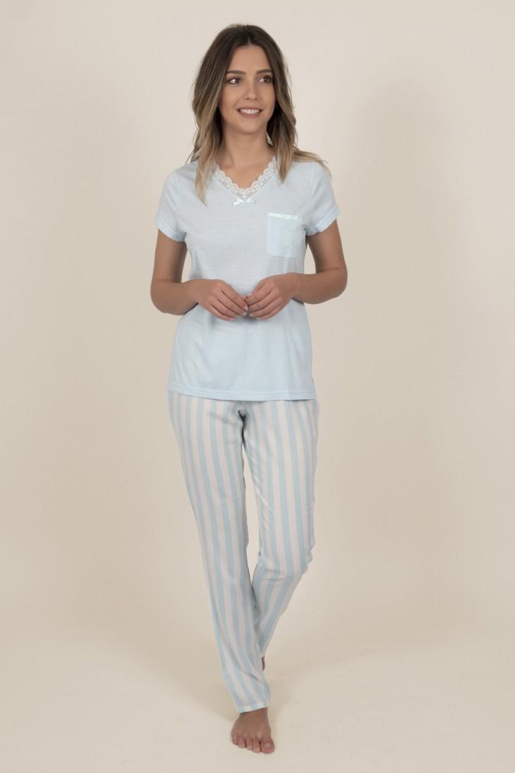 Pijama Pantalón Largo Classic Admas