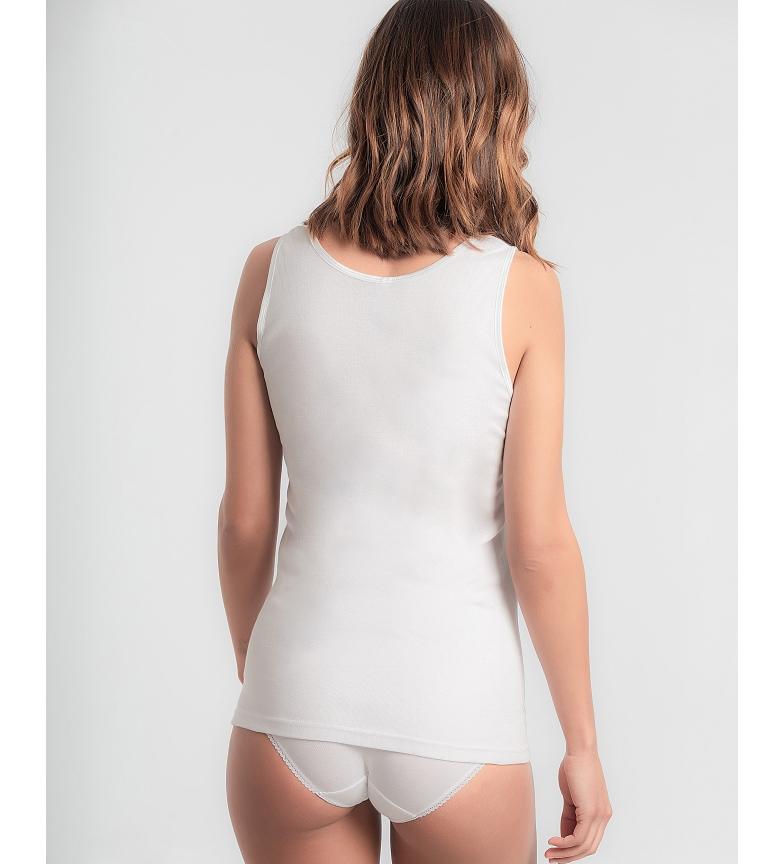 Camiseta Tirantes Anchos Cotton Feminine Playtex
