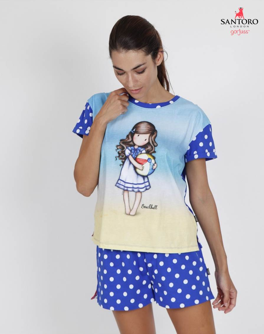 Pijama Corto Gorjuss Admas