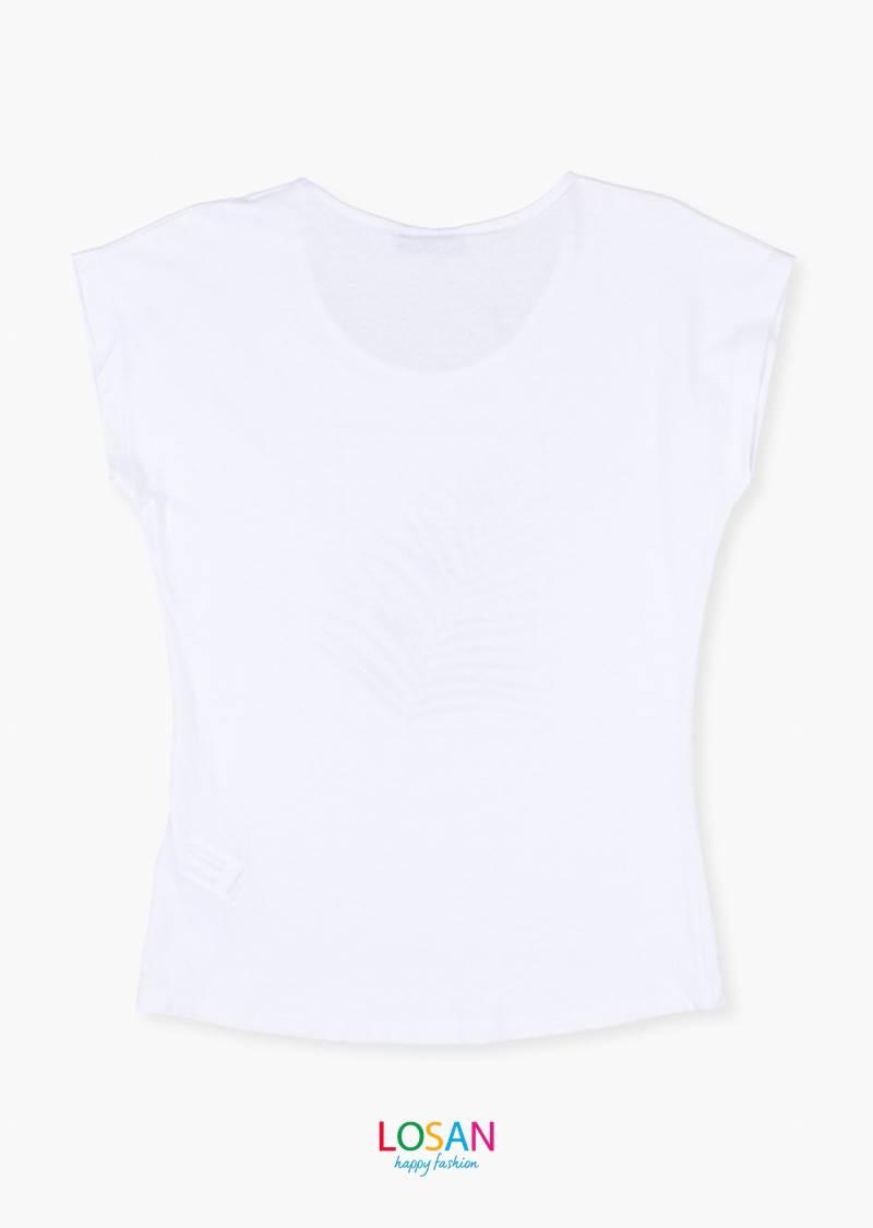 Camiseta Hoja Manga Corta Losan