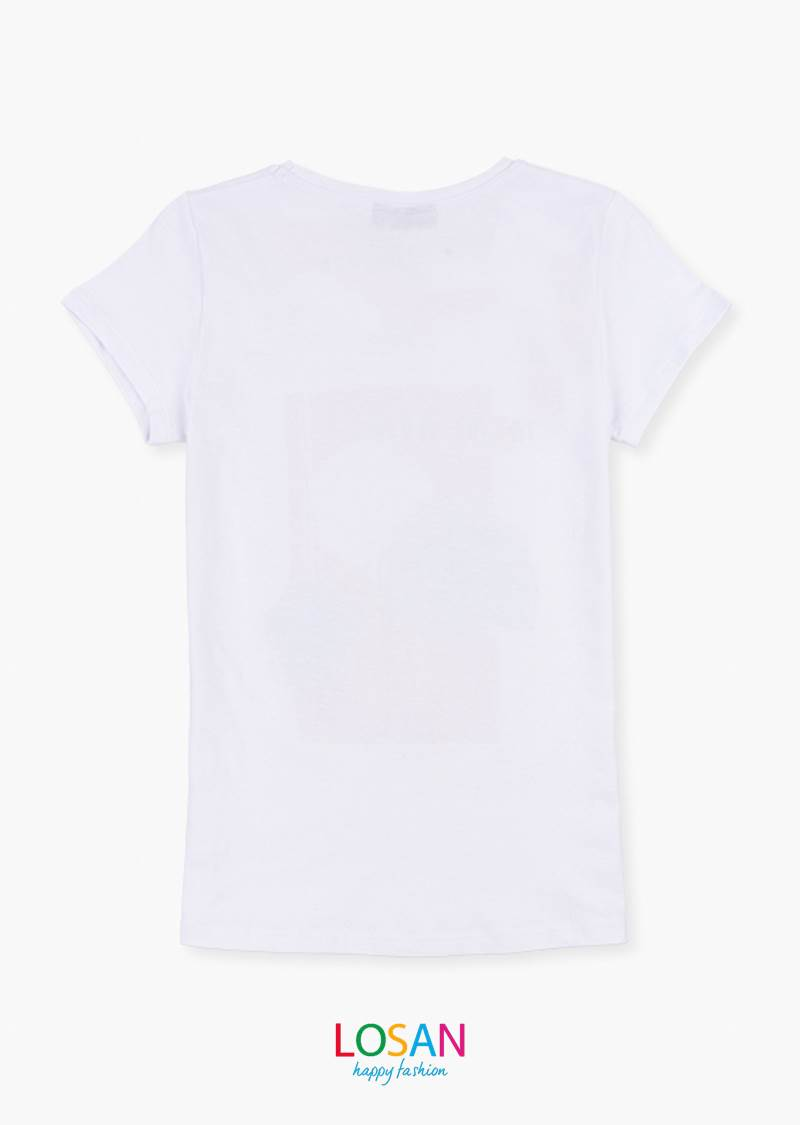 Camiseta Hojas Losan