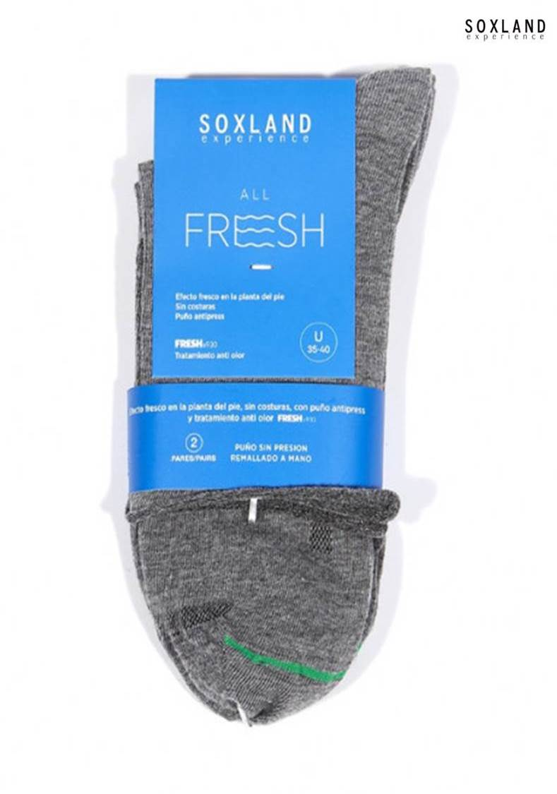 Pack 2 Calcetines Frescos Soxland