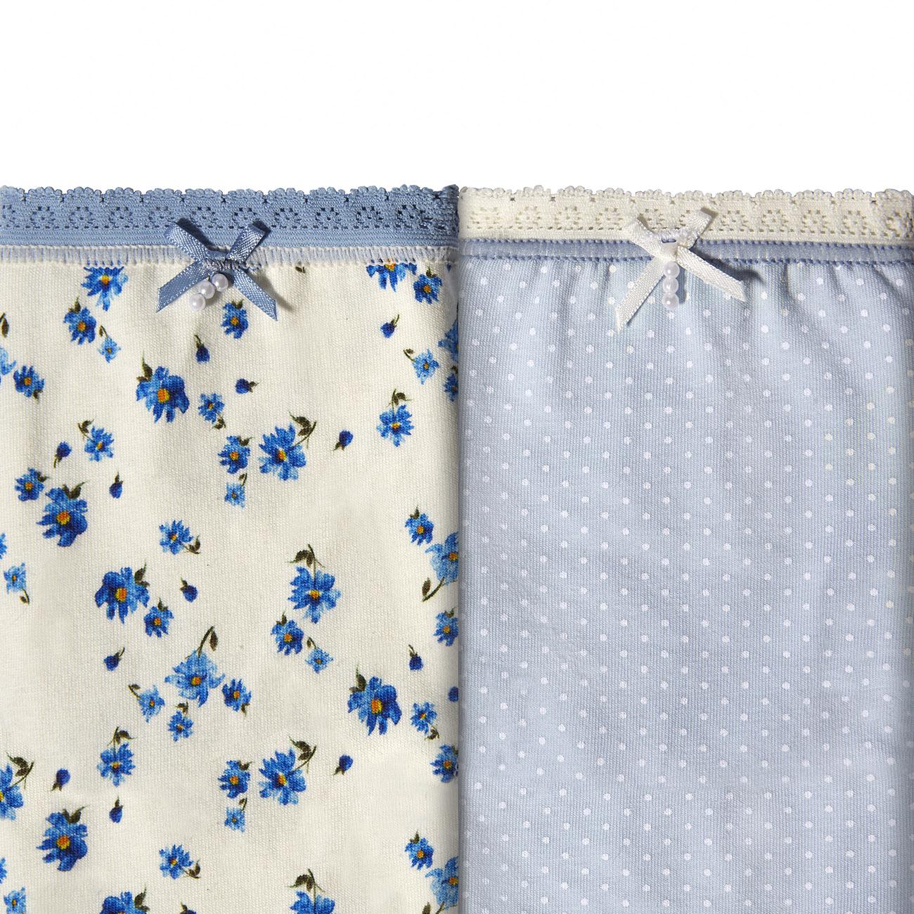 Pack 2 Braguitas Brislip Petit Blue Coquettes de Janira