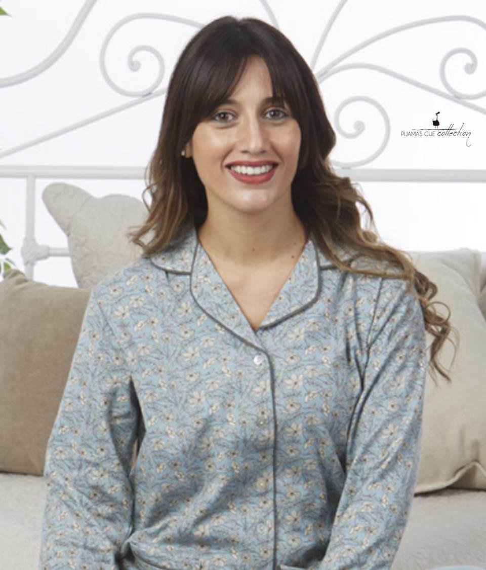 Pijama Floral Abierto Cue
