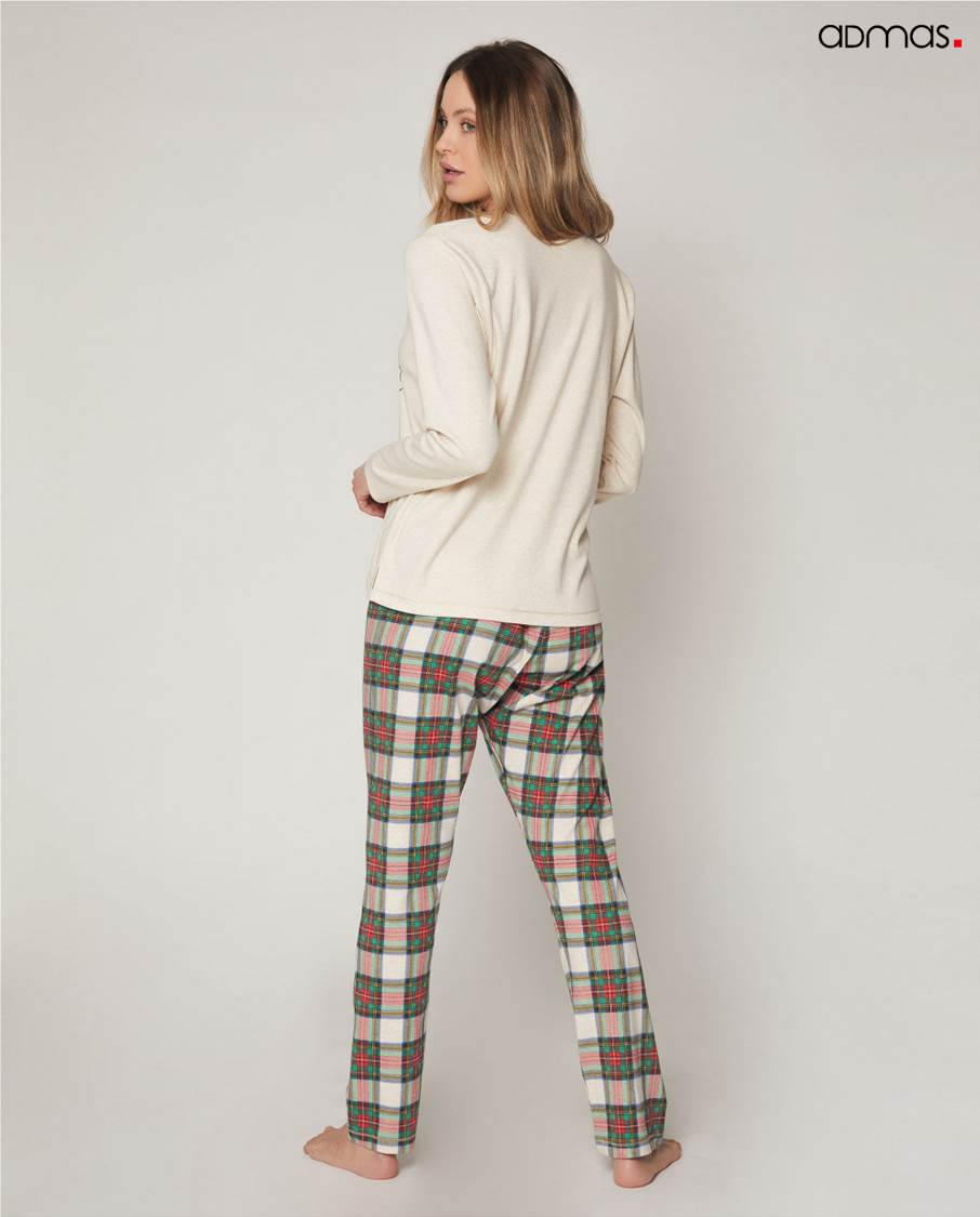 Pijama Largo Minnie Admas