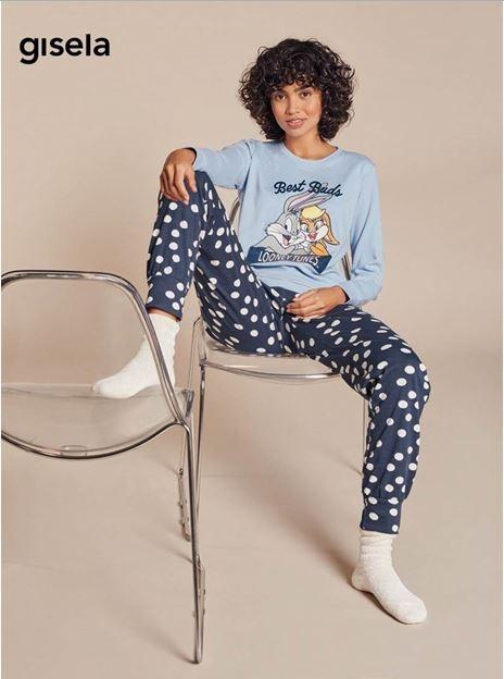 Pijama Largo Looney Tunes Gisela