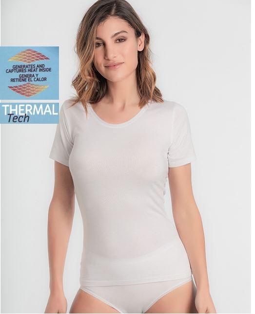 Camiseta Manga Corta Thermal Tech Playtex