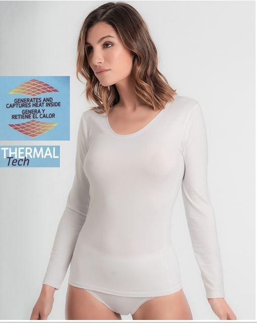 Camiseta Manga Laga Thermal Tech Playtex
