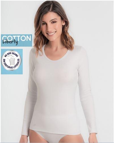 Camiseta Manga Larga Cotton Liberty Playtex