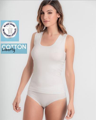 Camiseta Tirantes Anchos Cotton Liberty Playtex