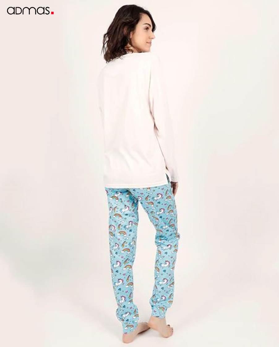 Pijama Largo Mujer Rainbow ADMAS
