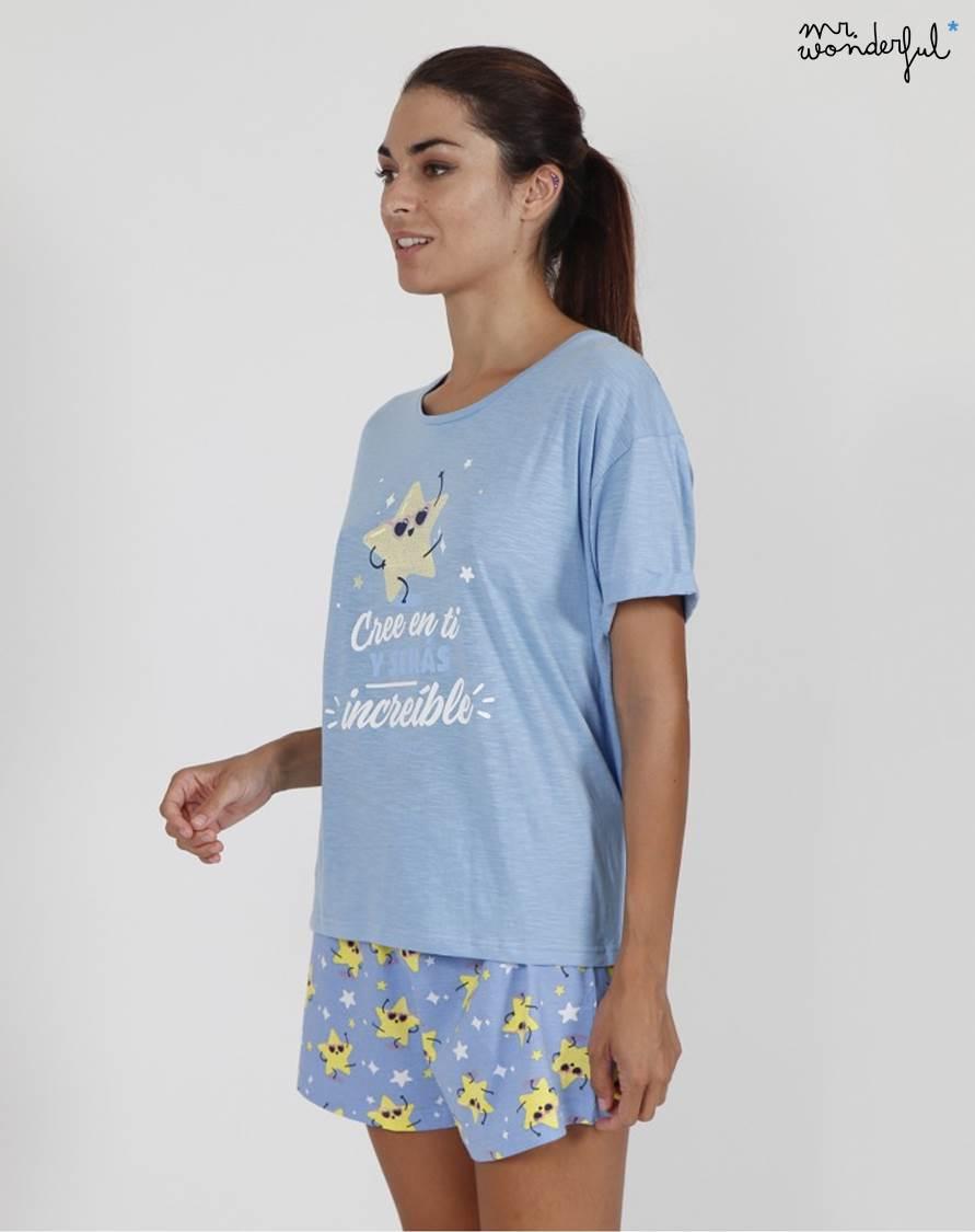 Pijama Corto Mr.Wonderful Admas