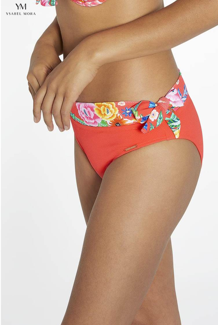 Bikini Bandeau C Living Coral Ysabel Mora