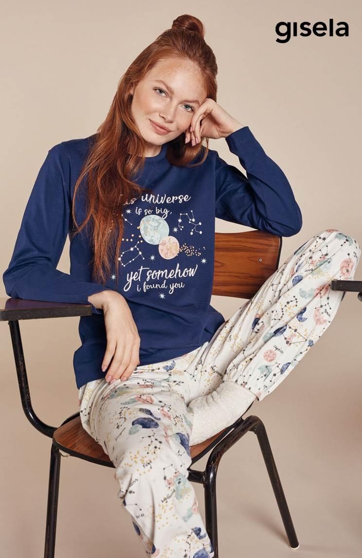 Pijama Largo Mujer Gisela