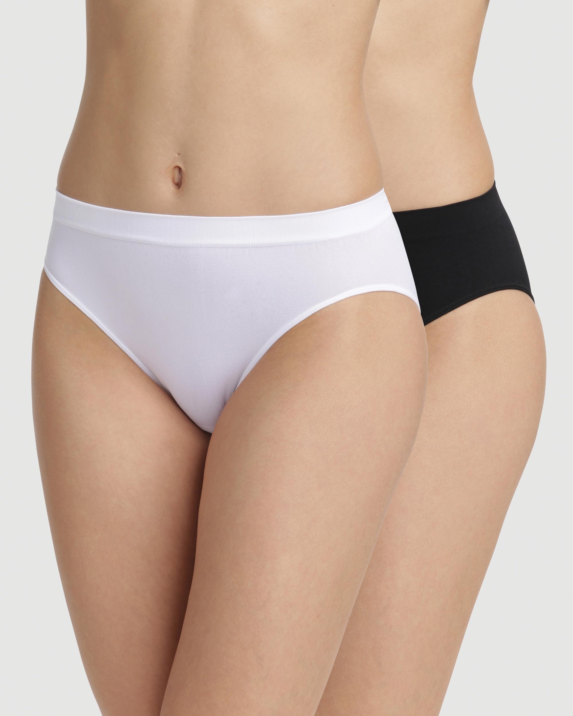 Pack x2 Bragas Bajas Sin Costuras microfibra