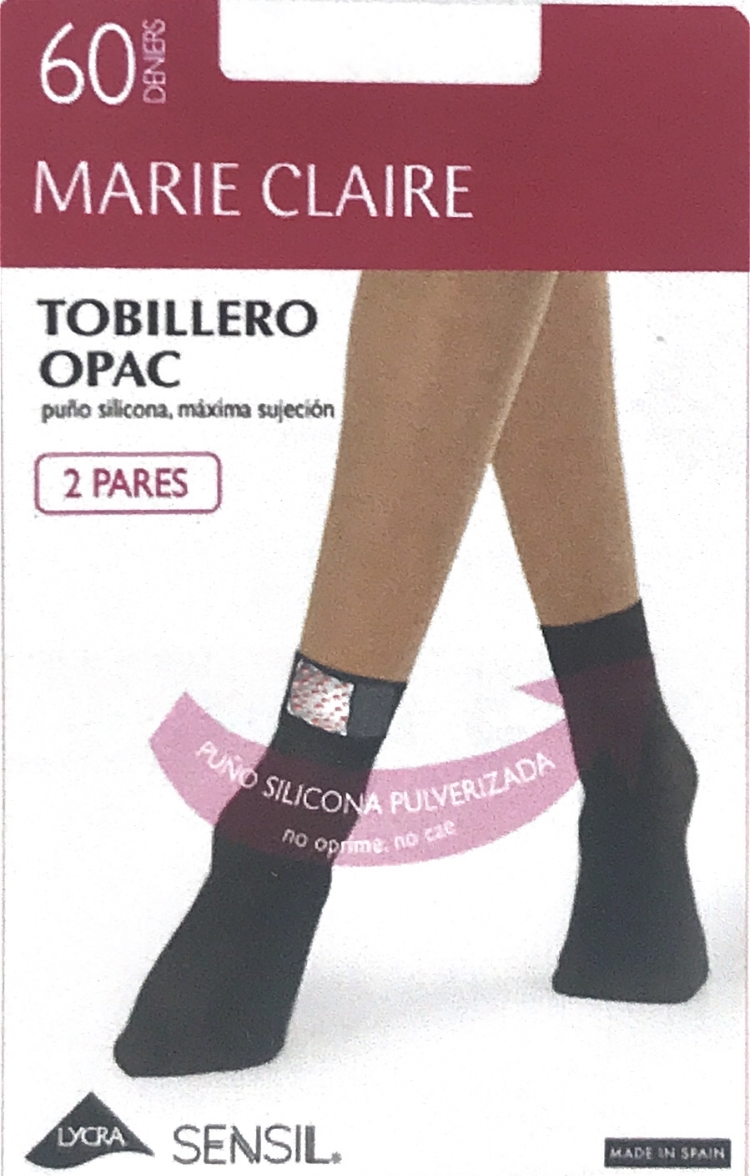 Pack 2 Tobilleros Opac 60 Den Marie Claire