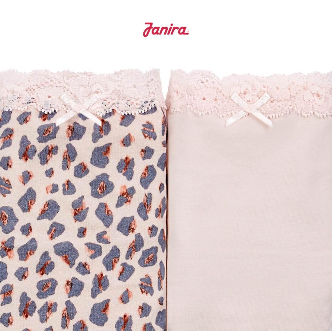 Pack 2 Braguitas Brislip Coquettes Pink Pant Janira