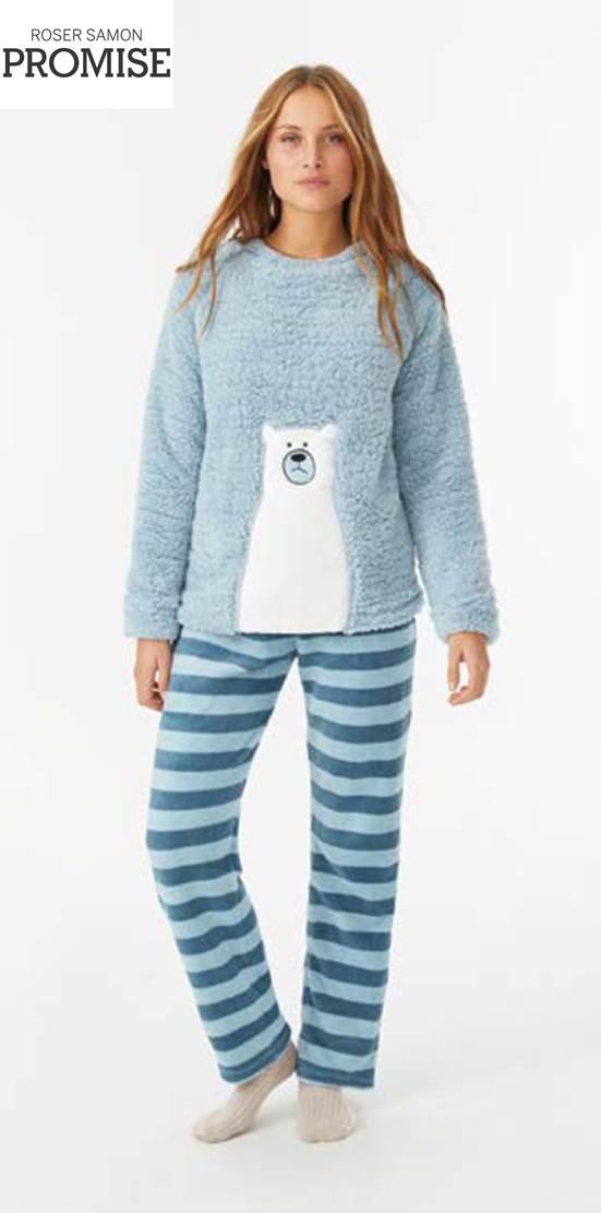 Pijama Peludo Promise