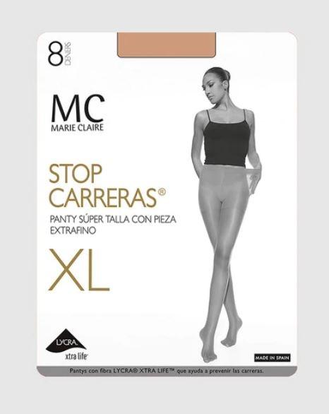 Panty Stop Carreras 8 Den XL Marie Claire