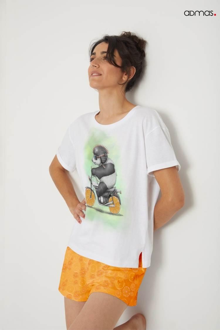 Pijama Corto Panda Admas