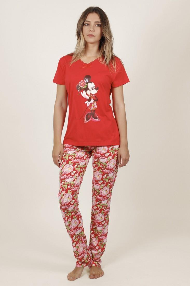 Pijama Pantalón Largo Minnie Disney