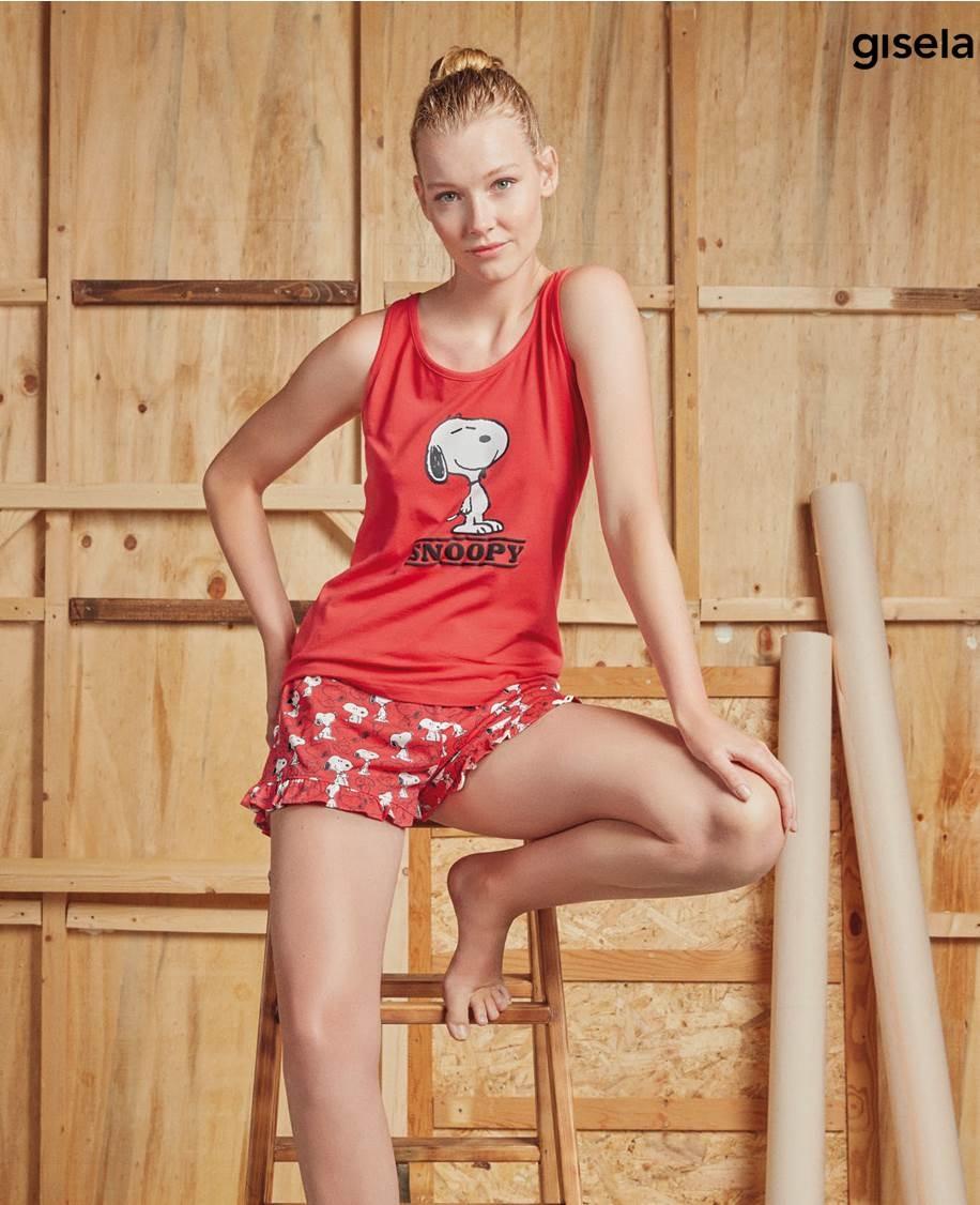 Pijama Tirante Snoopy Gisela