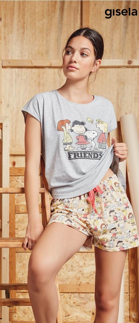 Pijama Snoopy Friends Gisela
