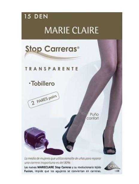 Pack 2 Calcetines Media Stop Carreras Marie Claire