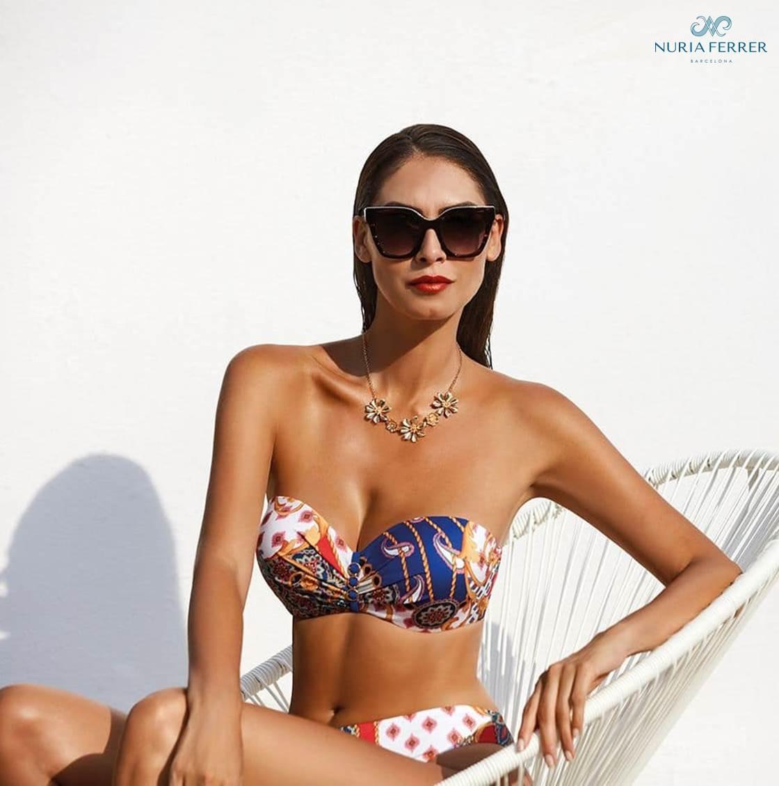 Bikini C Bandeau Foulard Nuria Ferrer