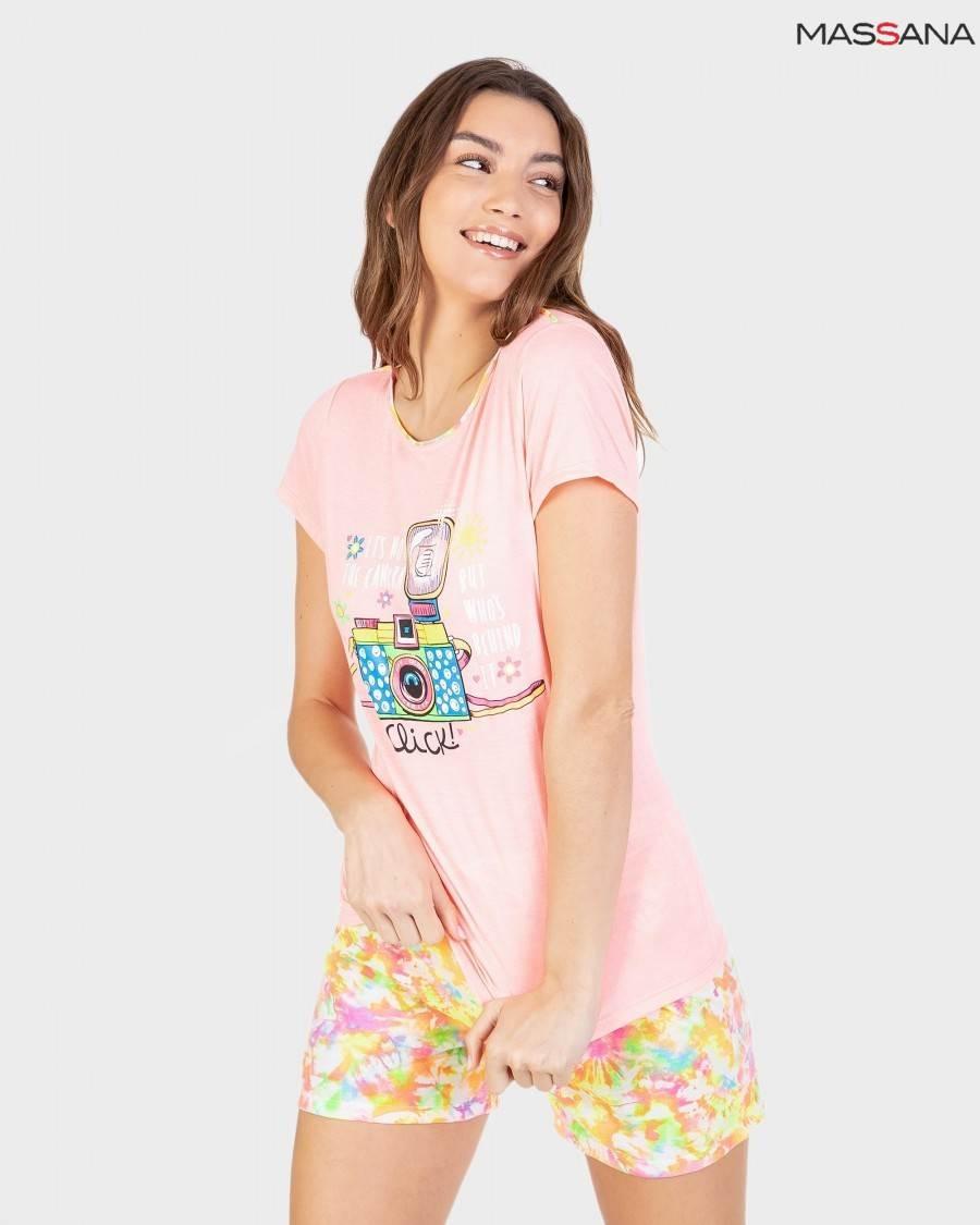 Pijama Corto Tie Dye Massana