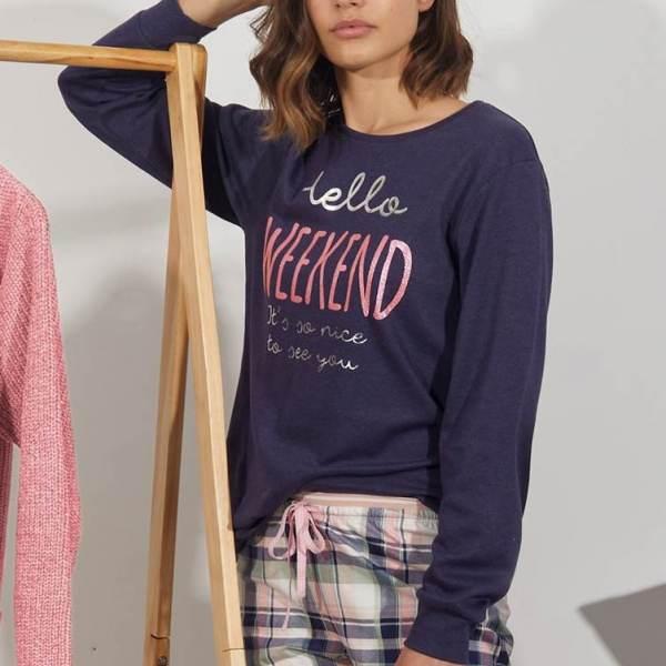 Pijama Largo Hello Admas