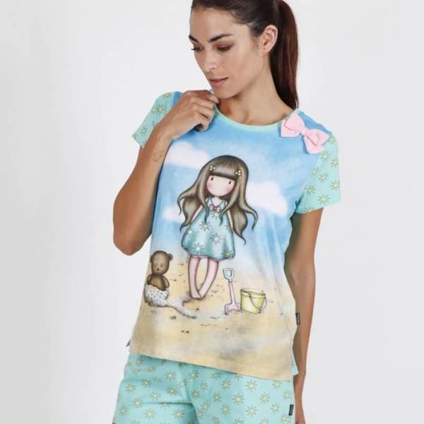 Pijama Corto Mujer Gorjuss