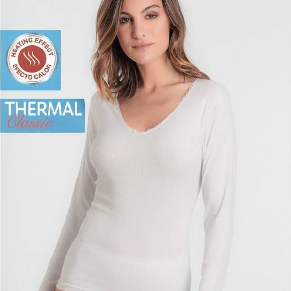 Camiseta Manga Larga Thermal Playtex