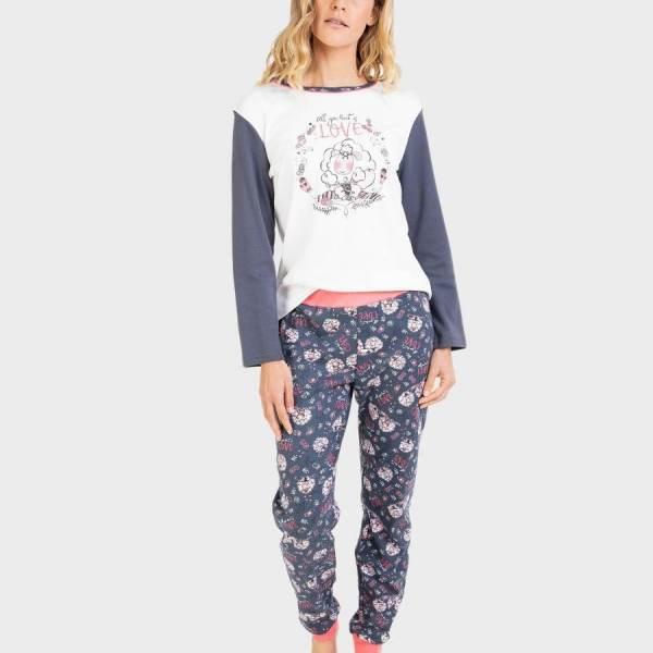 Pijama Largo Ovejas Massana