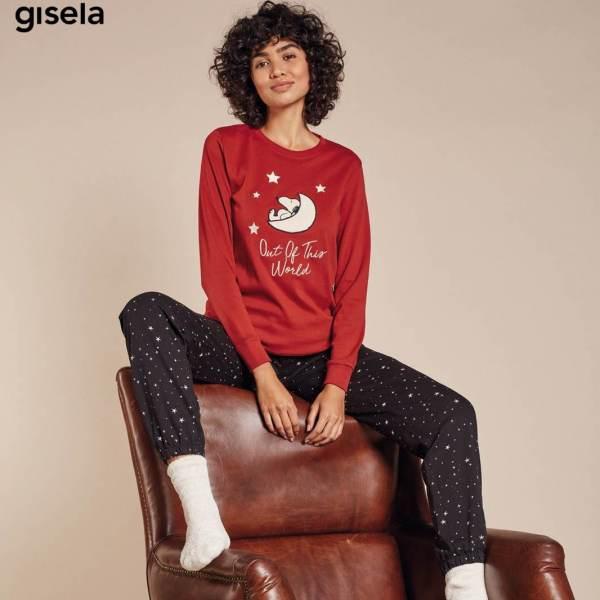 Pijama Largo Snoopy Gisela