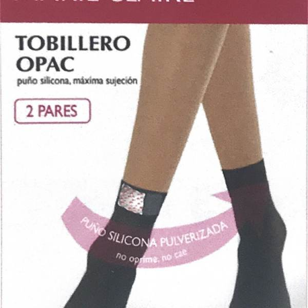 Pack 2 Tobilleros Opac 60 Den Marie Claire