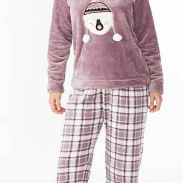 Pijama Largo Peludo Promise