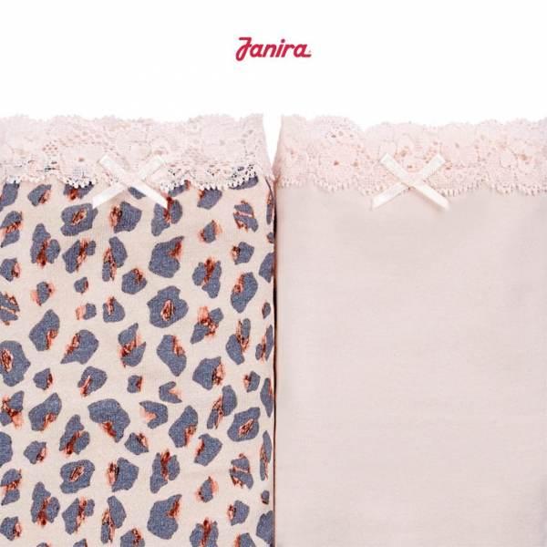 Pack 2 Braguitas Mini Coquettes Pink Pant Janira