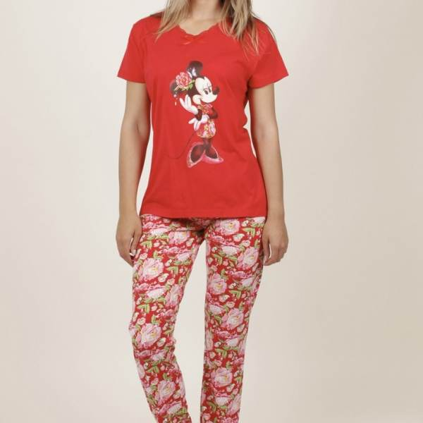 Pijama Pantalón Largo Minnie Disney